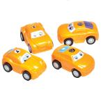 Pull Back Mini Racers - 6 PKG/4