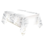 Confirmation Dove Plastic Tablecovers 1.8m x 1.2m - 6 PC