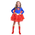 Supergirl Classic Costume - Age 6-8 Years - 1 PC