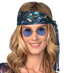 Blue Hippie Glasses - 1 PC