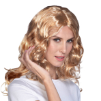 Blonde Wavy Wigs - 6 PC