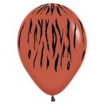 "Animal Print Mixed Colours Latex Balloons 5""/13cm - 50 PC"