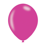 "Metallic Magenta Latex Balloons 11""/27.5cm - 10PKG/10"