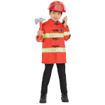 Unisex Firefighter Kit - Age 4-6 Years - 3 PC