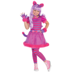 Cheshire Cat Costume - Age 8-10 Years - 1 PC