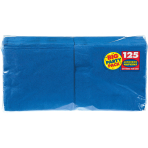 Bright Royal Blue luncheon Napkins 33cm - 6 PKG/125