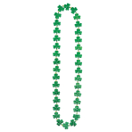 St. Patrick's Shamrock Frenzy Necklaces 91cm - 12 PC