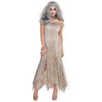 Adults Undead Bride Zombie Costume - Size Standard - 1 PC
