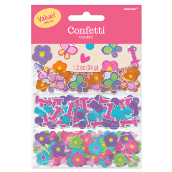 Sweet Birthday Girl 3 Pack Confetti Value - 12 PKG/3