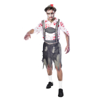 Oktoberfest Zombie Costume - Medium Size - 1 PC