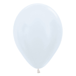 """Satin Solid Assorted Latex Balloons 5""""/13cm - 100 PC"""