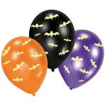 "Glow in the Dark Latex Balloons 11""/27.5cm - 6 PKG/6"