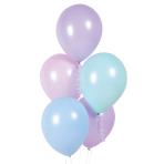 Fairy Princess Macaron Latex Balloons - 10 PKG/6