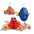 Finding Dory Honeycomb Hanging Decorations - 6PKG/3