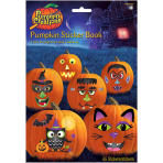 Pumpkin Sticker Books - 12 PC