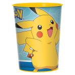 Pokémon Plastic Favour Cups 455ml - 12 PC