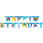 Top Wing Happy Birthday Letter Banners 1.8m x 12cm - 6 PC