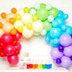 Primary DIY Garland Balloon Kits - 4 PKG/78