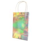 Iridescent Paper Loot Bags - 6 PKG/6