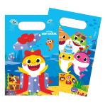 Baby Shark Paper Lootbags 23.4 x 16.2 cm - 6 PKG/8