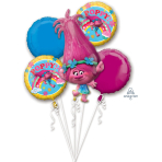 Trolls Foil Balloon Bouquets P75 - 3 PC