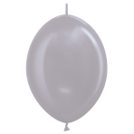"""Satin Link-O-Loon Solid Greige 479 Latex Balloons 12""""/30cm - 50 PC"""