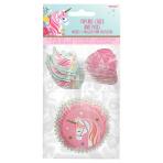 Magical Unicorn Cake Cases & Picks - 9 PKG/48