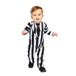 Beetlejuice Costume - Age 2-3 Years - 1 PC