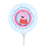 Peppa Pig Mini Foil Balloons A20 - 5 PC