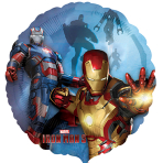 Iron Man 3 Armors Standard Foil Balloon - S60 5 PC