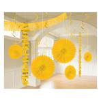Sunshine Yellow Room Decoration Kit - 6 PKG/18