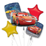 Cars 3 Lightning McQueen Foil Balloon Bouquets P75 - 3 PC