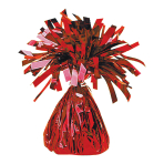 Red Foil Balloon Weights 170g/6oz - 12 PC
