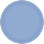 Pastel Blue Paper Plates 23cm - 6 PKG/20