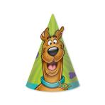 Scooby Doo Cone Hats - 6 PKG/8