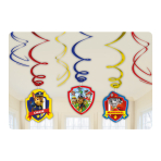 Paw Patrol Swirls Decorations - 10 PKG/6
