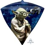 """Star Wars Diamondz Foil Balloons 15""""/38cm w x 17""""/43cm h G40 - 5 PC"""