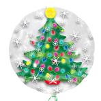 "Christmas Tree Insiders Balloons 24""/60cm w x 24""/60cm h P45 - 5 PC"