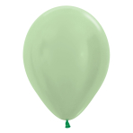 "Satin Solid Green 430 Latex Balloons 5""/13cm - 100 PC"