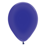 "Crystal Solid Violet 351 Latex Balloons 12""/30cm - 50 PC"