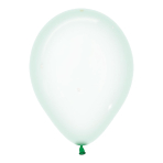"Crystal Pastel Green 331 Latex Balloons 12""/30cm - 50 PC"