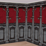 Gothic Mansion Room Rolls 6m x 1.2m (each roll) - 3 PKG/2