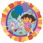 Dora the Explorer Foil Balloons - Standard - S60 10 PC
