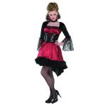 Adults Va Va Vampire Costume - Size 8-10 - 1 PC