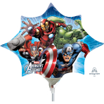 Avengers Assemble - Mini Shape Foil Balloons - A30 - 5 PC