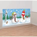 Winter Friends Scene Setters Add-Ons 1.65m x 85cm - 12 PC