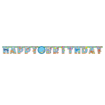Ocean Buddies Add an Age Happy Birthday Letter Banner 3.2m x 23cm - 6 PKG