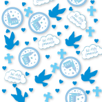 Communion Church Blue Confetti 14g - 6 PC