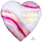 "Watercolour Geode Jumbo Foil Balloons 28""/71cm w x 28""/71cm h P32 - 5 PC"