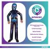 Neon Skeleton Sustainable Costume - Age 3-4 Years - 1 PC